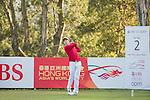 Yannick Nathan Artigolle of Hong Kong tees off hole 2 during the 58th UBS Hong Kong Open as part of the European Tour on 08 December 2016, at the Hong Kong Golf Club, Fanling, Hong Kong, China. Photo by Vivek Prakash / Power Sport Images