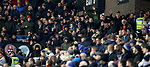 16.11.2019 Rangers Colts v Wrexham: Celtic fans at Ibrox to watch Rangers Colts