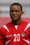 15 March 2008: Eduardo Jimenez (PAN). The Panama U-23 Men's National Team defeated the Cuba U-23 Men's National Team 4-1 at Raymond James Stadium in Tampa, FL in a Group A game during the 2008 CONCACAF's Men's Olympic Qualifying Tournament.