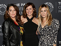 www.acepixs.com<br /> <br /> February 8 2018, New York City<br /> <br /> (L-R) Talia Balsam, Molly Shannon and Sarah Jessica Parker arriving at an evening with the cast of 'Divorce' at The Paley Center for Media on February 8, 2018 in New York City. <br /> <br /> By Line: Nancy Rivera/ACE Pictures<br /> <br /> <br /> ACE Pictures Inc<br /> Tel: 6467670430<br /> Email: info@acepixs.com<br /> www.acepixs.com