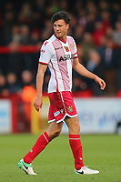 Jonathan Smith of Stevenage during Stevenage vs Notts County, Sky Bet EFL League 2 Football at the Lamex Stadium on 11th November 2017