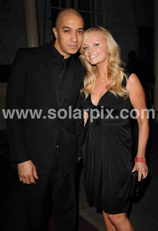 **ALL ROUND PICTURES FROM SOLARPIX.COM**.**WORLDWIDE SYNDICATION RIGHTS**.The News of The World 'Children's Champions 2008'-Departures. Held at the Renaissance Chancery Court Hotel, London, UK. 12th March 2008..This pic: Jade Jones and Emma Bunton..JOB REF: 5935 SSD-ATM     DATE: 13_03_2008.**MUST CREDIT SOLARPIX.COM OR DOUBLE FEE WILL BE CHARGED* *UNDER NO CIRCUMSTANCES IS THIS IMAGE TO BE REPRODUCED FOR ANY ONLINE EDITION WITHOUT PRIOR PERMISSION*