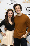 Tiler Peck and Kyle Harris attends the Sneak Peek Presentation for 'Marie, Dancing Still - A New Musical'  at Church of Saint Paul the Apostle in Manhattan on March 4, 2019 in New York City.