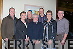 DINNER: A thank u dinner was held in Ballyroe Heiughts Hotel, Tralee on Saturday night for members of the Ballyheigue Ploughing committe, Front l-r: Mary McCarthy, Michael Hehir and Kathleen McCarthy(Ballyheigue). Back l-r: JP Corridon, James O'Driscoll, Joe McCarthy and John McCarthy................. . ............................... ..........