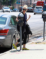 May 23, 2014 Studio City California Gwen Stefani seen out and about in Studio City SPMPI/Starlitepics