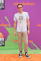 LOS ANGELES, CA July 13- Kendall Schmidt, At Nickelodeon Kids' Choice Sports Awards 2017 at The Pauley Pavilion, California on July 13, 2017. Credit: Faye Sadou/MediaPunch