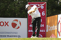 George Coetzee (RSA) tees off the 6th tee during Friday's Round 3 of the Commercial Bank Qatar Masters 2013 at Doha Golf Club, Doha, Qatar 25th January 2013 .Photo Eoin Clarke/www.golffile.ie