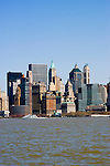 New York City, New York: Skyline of New York lower manhattan post 9-11.  .Photo #: ny224-14651  .Photo copyright Lee Foster, www.fostertravel.com, lee@fostertravel.com, 510-549-2202.