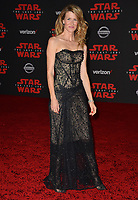 Laura Dern at the world premiere for &quot;Star Wars: The Last Jedi&quot; at the Shrine Auditorium. Los Angeles, USA 09 December  2017<br /> Picture: Paul Smith/Featureflash/SilverHub 0208 004 5359 sales@silverhubmedia.com