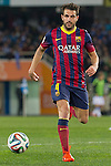 FC Barcelona's Cesc Fabregas during La Copa match.February 12,2014. (ALTERPHOTOS/Mikel)