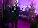 Nas performs at the launch party for the Foot Locker and Timberland Fall 2017 Legends Collection in NYC in New York on Sept. 19, 2017. Photo by Soul Brother for Timberland