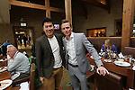 Celebrity Golf @ Golf Live.Masterchef finalists Larkin Cen & Dale Williams.Celtic Manor Resort.12.05.13.©Steve Pope