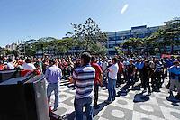 MOGI DAS CRUZES SP ,QUINTA-FEIRA06 DE JUNHO DE 2013,GRVE DOS FUNCIONARIOS PUBLICOS DE MOGI DAS CRUZES SP,Funcionario Publicos do Municipio de Mogi das Cruzes na grande Sao Paulo estao de greve ,na area da educacao ,professores e merendeiros tambem aderiram a paralizacao e escolas na regiao do Alto Tiete estao parcialmente sem aula,os funcionarios da prefeitura junto ao sindicato da categoria lutam melhorias e condicoes de trabalho como reajuste salarial e outras mais reivindicacoes impostas ao Prefeito Marcos Aurelio Bertaioli,os grevistas pretendem estender o ato independente de ameacas da Prefeituta de entrar na justica para parar a greve,FOTO:WARLEY LEITE/BRAZIL PHOTO PRESS