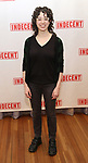 """Adina Verson attends the """"Indecent"""" Media Day at Playwrights Horizons on March 13, 2017 in New York City."""
