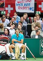 13-02-13, Tennis, Rotterdam, ABNAMROWTT, Rojer Federer