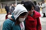 SCH11. BUIN (CHILE), 17/08/2011.- La estudiante Francia Garate (i), que mantiene una huelga de hambre desde hace más de 30 días en demanda de una educación pública, gratuita y de calidad, continúa junto a cuatro compañeros su protesta hoy, miércoles 17 de agosto de 2011, en el liceo A131 de Buin (Chile). EFE/Felipe Trueba