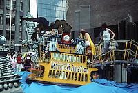 New York: Ruckus Manhattan by Red Grooms. Staten Island Ferry. Photo '78.