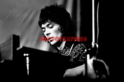 The Faces 1972 Ian McLagan at Reading.© Chris Walter.