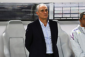27th March 2018, Olympiastadion, Berlin, Germany; International Football Friendly, Germany versus Brazil; Coach Tite (Brazil)