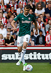 Andreas Bjelland of Brentford during the English Championship League match at Bramall Lane Stadium, Sheffield. Picture date: August 5th 2017. Pic credit should read: Simon Bellis/Sportimage