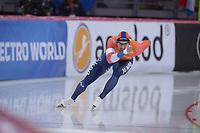 SPEEDSKATING: HAMAR: Vikingskipet, 28-02-2020, ISU World Speed Skating Championships, Sprint, 500m Men, Kjeld Nuis (NED), ©photo Martin de Jong