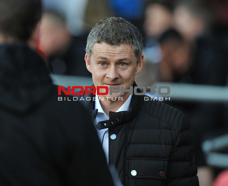 Cardiff City&rsquo;s, Ole Gunnar Solskjaer  -  11/01/2014 - SPORT - FOOTBALL - Cardiff City Stadium - Cardiff - Cardiff City v West Ham United - Barclays Premier League<br /> Foto nph / Meredith<br /> <br /> ***** OUT OF UK *****