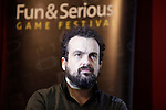Spanish film director Nacho Vigalondo attends the Fun & Serious Game festival presentation. (ALTERPHOTOS/Victor Blanco)