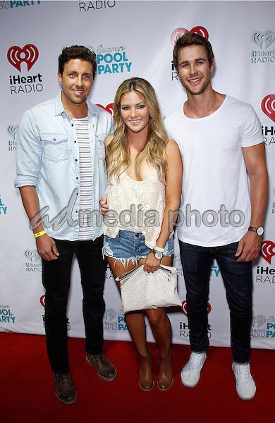 30 May 2015 - Las Vegas, Nevada -  Zack Kalter, Becca Tilley, Robert Graham. iHeartRadio Summer Pool Party at Caesars Palace.  Photo Credit: MJT/AdMedia