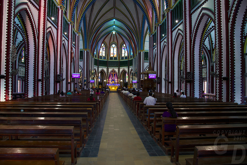 Yangon St Mary's Cathedral, Myanmar