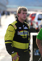 Nov. 20, 2009; Homestead, FL, USA; NASCAR Camping World Truck Series driver Brett Butler during the Ford 200 at Homestead Miami Speedway. Mandatory Credit: Mark J. Rebilas-