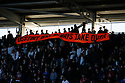 Stevenage fans and banner.Reading v Stevenage - FA Cup 3rd Round - Madejski Stadium,.Reading - 7th January, 2012.© Kevin Coleman 2012