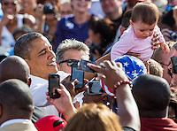 Eva Longoria & Barack Obama en las VEGAS