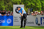 Soren Hansen tees off on the 12th hole during Round 2 of the BMW PGA Championship at  Wentworth, Surrey, England...Photo Golffile/Eoin Clarke.(Photo credit should read Eoin Clarke www.golffile.ie)....This Picture has been sent you under the condtions enclosed by:.Newsfile Ltd..The Studio,.Millmount Abbey,.Drogheda,.Co Meath..Ireland..Tel: +353(0)41-9871240.Fax: +353(0)41-9871260.GSM: +353(0)86-2500958.email: pictures@newsfile.ie.www.newsfile.ie.