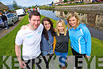 Pictured at the Tralee Tri Grand Prix Triathlon  on Saturday morning were front l-r: James Johnston, Siobhan Johnston, Joanna Johnston and Siobhan O'Connor (all Tralee).