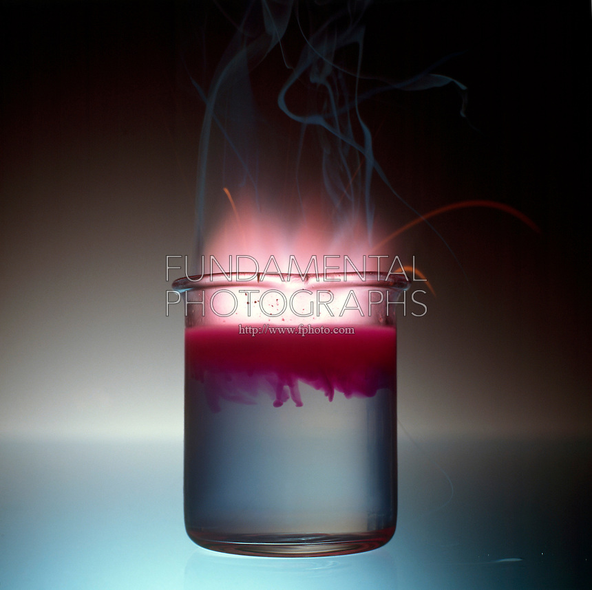 the exothermic chemistry experiment of calcium oxide solution in water Next, decomposition occurs from the loss of bound water and carbon dioxide   or other impurities that would interfere with the bonding reaction with the cement .