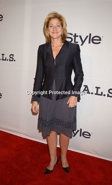 ..Edie Falco in Donna Karan..at the 6th Annual New York City Gala to benefit Project ALS on October 20, 2003 at the Hammerstein Ballroom ...Photo by Robin Platzer, Twin Images