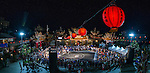 So Yi Chun of Hong Kong performs in the international slam-dunk contest at TinHau Temple ahead of the Red Bull King of the Rock World Finals, Taitung City, Taiwan, on September 5th 2014.