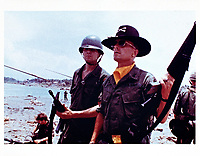 Apocalypse Now (1979) <br /> Robert Duvall &amp; Sam Bottoms<br /> *Filmstill - Editorial Use Only*<br /> CAP/KFS<br /> Image supplied by Capital Pictures