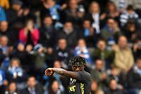 Moise Kean of Juventus reacts <br /> Ferrara 13-4-2019 Stadio Paolo Mazza Football Serie A 2018/2019 SPAL - Juventus <br /> Foto Andrea Staccioli / Insidefoto