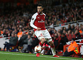 7th December 2017, Emirates Stadium, London, England; UEFA Europa League football, Arsenal versus BATE Borisov; Francis Coquelin of Arsenal on the ball