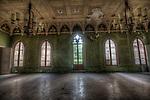 German forgotten castle interior