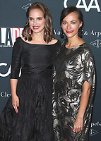 LOS ANGELES - OCTOBER 7:   Natalie Portman and Rashida Jones at the 2017 Los Angeles Dance Project Gala on October 7, 2017 in Los Angeles, California. (Photo by Scott Kirkland/PictureGroup)