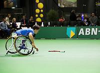 Februari 12, 2015, Netherlands, Rotterdam, Ahoy, ABN AMRO World Tennis Tournament, Gustavo Fernandez (ARG)<br /> Photo: Tennisimages/Henk Koster