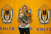 Rotterdam, The Netherlands, 15.03.2014. NOJK 14 and 18 years ,National Indoor Juniors Championships of 2014, Winner  girls 14 years: Gabriella Mujan<br /> Photo:Tennisimages/Henk Koster