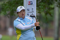 Shanshan Feng (CHN) watches her tee shot on 11 during round 1 of the U.S. Women's Open Championship, Shoal Creek Country Club, at Birmingham, Alabama, USA. 5/31/2018.<br /> Picture: Golffile | Ken Murray<br /> <br /> All photo usage must carry mandatory copyright credit (&copy; Golffile | Ken Murray)