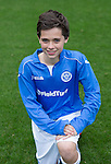 St Johnstone FC Academy U14's<br /> Oliver Hamilton<br /> Picture by Graeme Hart.<br /> Copyright Perthshire Picture Agency<br /> Tel: 01738 623350  Mobile: 07990 594431