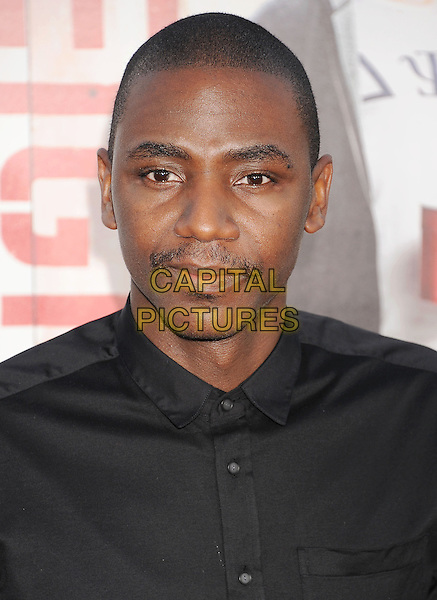 WESTWOOD, CA- APRIL 28: Actor Jerrod Carmichael arrives at the Los Angeles premiere of 'Neighbors' at Regency Village Theatre on April 28, 2014 in Westwood, California.<br /> CAP/ROT/TM<br /> &copy;Tony Michaels/Roth Stock/Capital Pictures