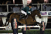 29th September 2017, Real Club de Polo de Barcelona, Barcelona, Spain; Longines FEI Nations Cup, Jumping Final; SWEETNAM Shane (IRL)  riding Chaqui Z during the first round of the Nations Cup
