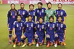Women's Japan National team group line-up (JPN), MAY 28, 2015 - Football / Soccer : KIRIN Challenge Cup 2015 match between Japan 1-0 Italy at Minaminagano Sports Park, <br /> Nagano, Japan. (Photo by Yusuke Nakansihi/AFLO SPORT)