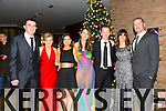 John Carroll, Karen Blennerhassett, Yvonne Darmody, Trisha Enright, Alan Blennerhassett, Eilish Lyons, Mike Lyons at the New Year's Eve Ball at the Fels Point Hotel on Wednesday
